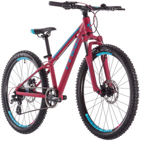 Cube Access 240 Disc Kinderen, berry'n'aqua'n'pink